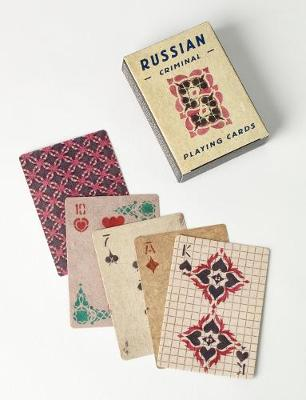 Russian Criminal Playing Cards: Deck of 54 Playing Cards by FUEL