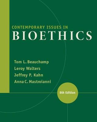Contemporary Issues in Bioethics by Tom L. Beauchamp