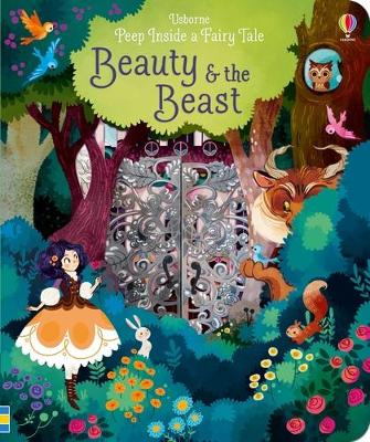 Peep Inside a Fairy Tale Beauty & The Beast book