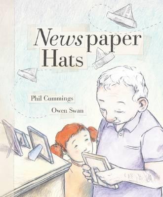 Newspaper Hats by Phil Cummings