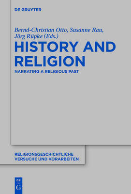 History and Religion by Bernd-Christian Otto