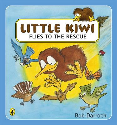 Little Kiwi Flies To The Rescue book