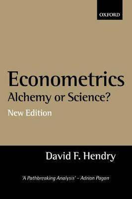 Econometrics: Alchemy or Science? book