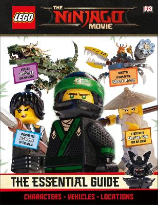 THE LEGO (R) NINJAGO (R) Movie (TM) The Essential Guide by DK