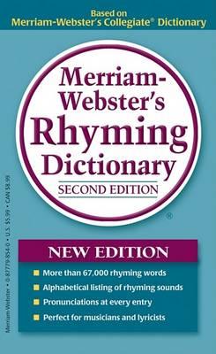 Merriam-Webster's Rhyming Dictionary by Merriam-Webster
