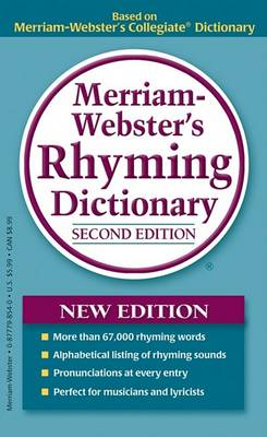 Merriam-Webster's Rhyming Dictionary by Merriam-Webster