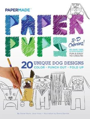 Paper Pups Coloring Book by PaperMade