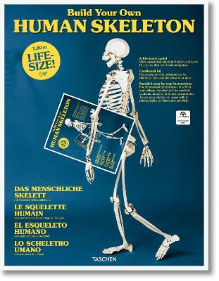 Build Your Own Human Skeleton - Life Size! by TASCHEN
