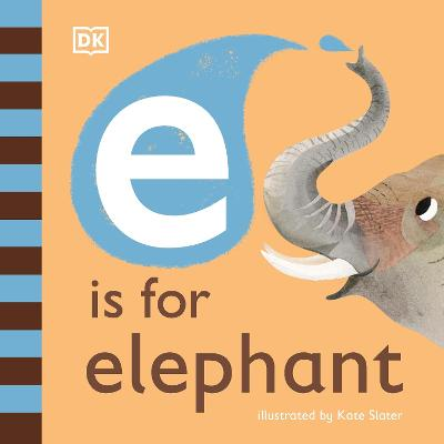 E is for Elephant book