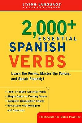 Liv Lang 2000+ Spanish Verbs by Living Language