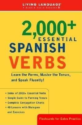 Liv Lang 2000+ Spanish Verbs by Living Language