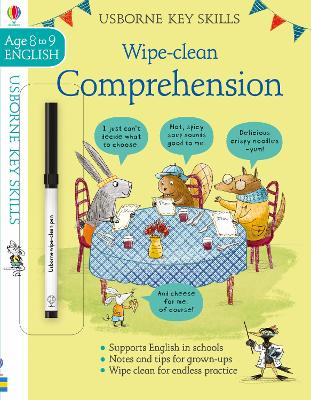 Wipe-Clean Comprehension 8-9 by Caroline Young