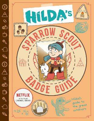 Hilda's Sparrow Scout Badge Guide book