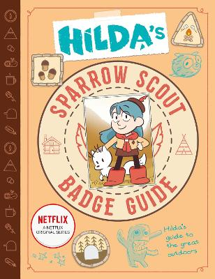 Hilda's Sparrow Scout Badge Guide by Luke Pearson