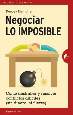 Negociar Lo Imposible book