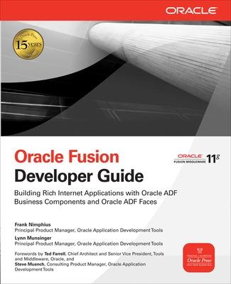 Oracle Fusion Developer Guide by Frank Nimphius