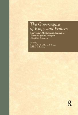 Governance of Kings and Princes by Paul G. Remley