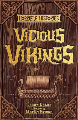 Vicious Vikings by Terry Deary