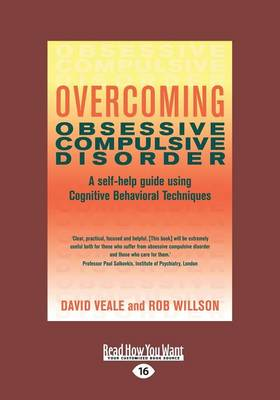 Overcoming Obsessive Compulsive Disorder by Rob Willson
