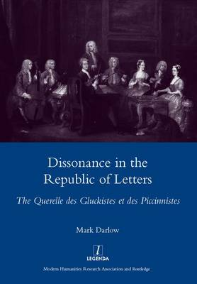 Dissonance in the Republic of Letters book