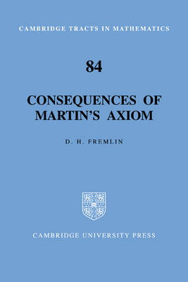 Consequences of Martin's Axiom by D. H. Fremlin