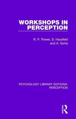 Workshops in Perception book