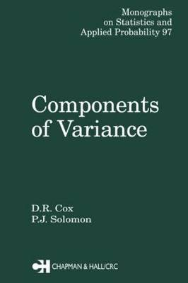 Components of Variance by D.R. Cox
