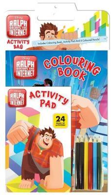 WRECK IT RALPH 2 ACTIVITY BAG book