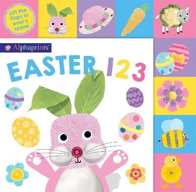 Alphaprints Easter 123 by Roger Priddy