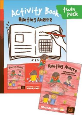 Hunting Aherre + Activity Book: Sections: Fun with Words; Grammar; Comprehension; Art & Culture; Science by Margaret James and Illustrated by Wendy Paterson