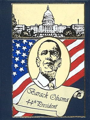 Inaugural Address Minibook by Barack Obama