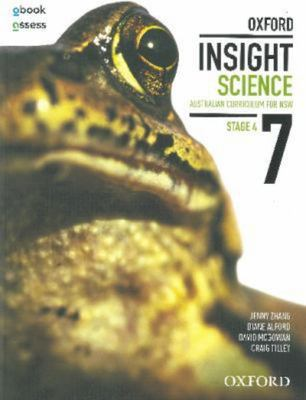 Oxford Insight Science 7 AC for NSW Student book + obook assess book