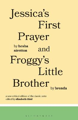Jessica's First Prayer and Froggy's Little Brother book