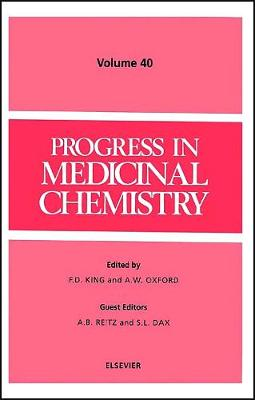 Progress in Medicinal Chemistry by F. D. King