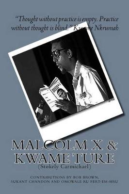 Malcolm X and Kwame Ture by Bob Brown