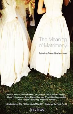 Meaning of Matrimony by Brenda Almond