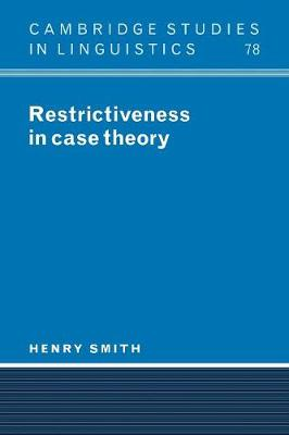 Restrictiveness in Case Theory by Henry Lee Smith