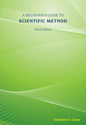 A Beginner's Guide to Scientific Method book