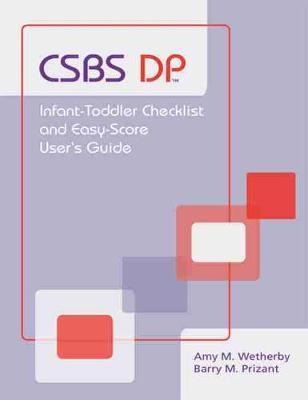 Communication and Symbolic Behavior Scales Developmental Profile (Csbs Dp) book