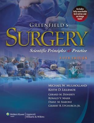 Greenfield's Surgery book
