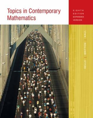 Topics in Contemporary Mathematics : Expanded Version by Ignacio Bello
