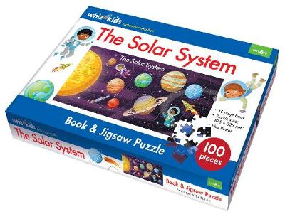 The Solar System Book and Jigsaw Puzzle by