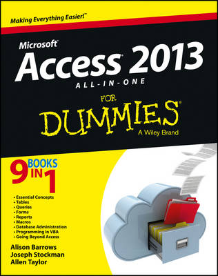 Access 2013 All-In-One for Dummies book