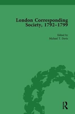 London Corresponding Society, 1792-1799 by Jack Fruchtman