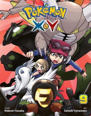 Pokemon X*Y, Vol. 9 by Satoshi Yamamoto