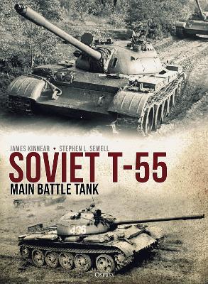 Soviet T-55 Main Battle Tank by James Kinnear