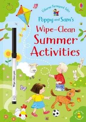Poppy and Sam's Wipe-Clean Summer Activities book
