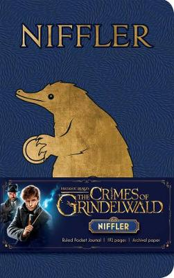 Fantastic Beasts: The Crimes of Grindelwald: Niffler Ruled Pocket Journal by Insight Editions