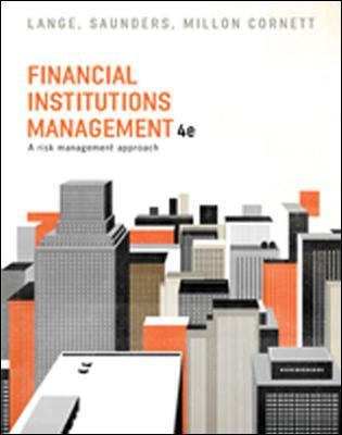 Financial Institutions Management by Helen Lange
