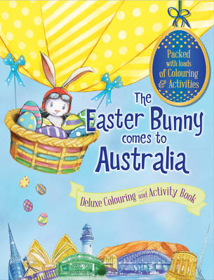The Easter Bunny Bumper Colouring Book by